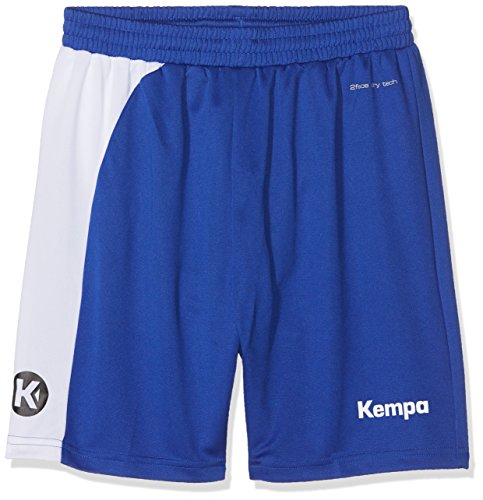 Kempa Kinder Peak Shorts Bekleidung Teamsport, royal/Weiß, 128