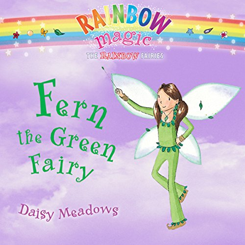 Rainbow Magic: Fern the Green Fairy audiobook cover art