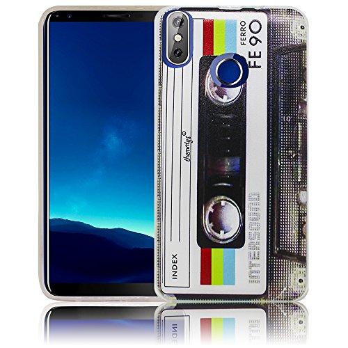 Cubot R11 Passend Kassette Retro Handy-Hülle Silikon - staubdicht, stoßfest & leicht - Smartphone-Case