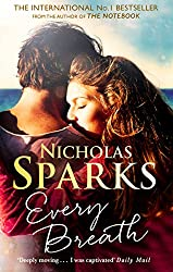 Book Cover of Every Breath by Nicholas Spark