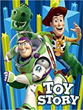 American Linen & Rugs Disney Children Toddler Toy Story - Ready for Action Super Soft Raschel Blanket Twin Size