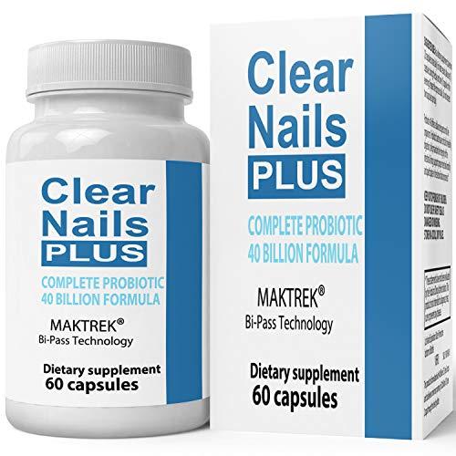 Clear Nails Plus Antifungal Probiotic Pills Capsules Formula Boost Metabolism Supplement Pills