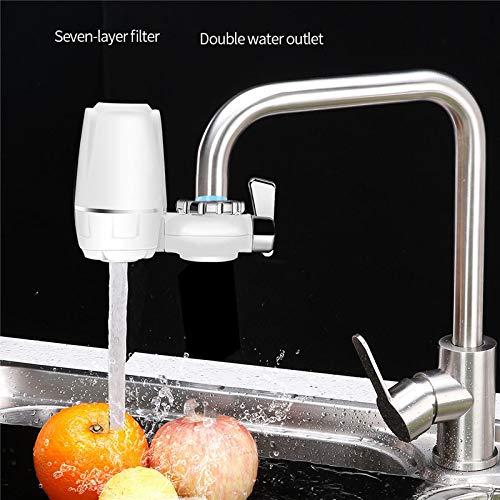Activated Carbon Water Filter Kraan Mini Waterzuiveraar 7 Fasenfiltersysteem Keukenkraan Water Filter Verwijder Rust Sediment