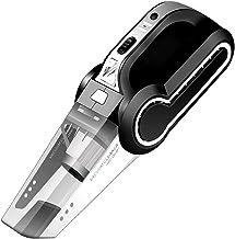 Bezprzewodowy odkurzacz samochodu, dysze 4500PA Ssanie 4 dysze, nadmuchiwany odkurzacz z światłami LED, odpowiedni do czys...