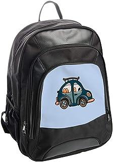 شنطة ظهر،   بتصميم سيارة زرقاء