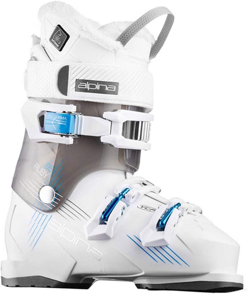 Max 46% OFF Alpina Women's Ruby 65 Heat Ski Washington Mall Boots Black White 230 2018