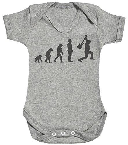 Baby Buddha Evolution to A Rockstar Body bébé - Gilet bébé - Naissance Gris