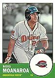 2012 Topps Heritage Minor League #40 Boss Moanaroa Greenville Drive MLB Baseball Card NM-MT