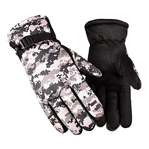 Guantes de invierno Hombres militares tácticos invierno guantes cálidos antideslizantes Guantes térmicos térmicos a prueba de agua Hacería al aire libre Senderismo Pesca Ski Snow Gloves guantes de mot