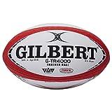 Gilbert G-TR4000, pallone da rugby per allenamento, Uomo, Red