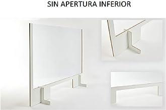 MAMPARA PROTECCION SEMIRIGIDA CON MARCO MEDIDA DE 900 x 650 MM SIN APERTURA INFERIOR: Amazon.es: Oficina y papelería