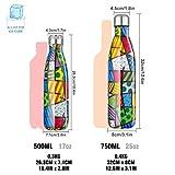 Zoom IMG-1 bottiglia acqua in acciaio inox