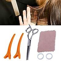 ヘアカットはさみセット、ヘアカットはさみセット理髪はさみ理髪ツールキット、専門家および家庭用(#2)