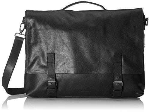 Royal RepubliQ Unisex-Erwachsene Messenger Bag Kuriertasche, Schwarz (Black), 9x31x39 cm