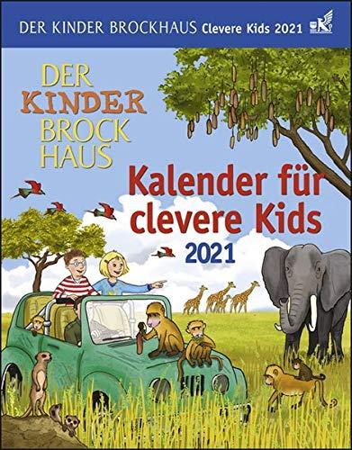 Der Kinder Brockhaus Kalender für clevere Kids Tagesabreißkalender 2021 - Tischkalender zum Aufstellen oder Aufhängen - mit Experimenten, Bastelanleitungen und Rezepten - Format 12,5 x 16 cm