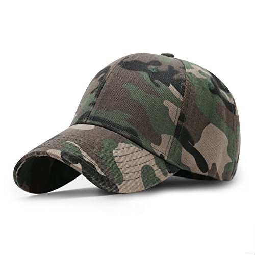 LDDENDP 3D Stereo Camouflage Pattern Hat Mens Baseball Hat Adjustable Velcro Outdoor Sports Camouflage Riding Cap Cotton Army Camouflage Cap Visor Baseball Cap