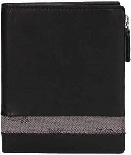 PORTAFOGLIO UOMO ALVIERO MARTINI 1° CLASSE ART. BVW1425400 pelle colore nero asfalto dim.10 x 12