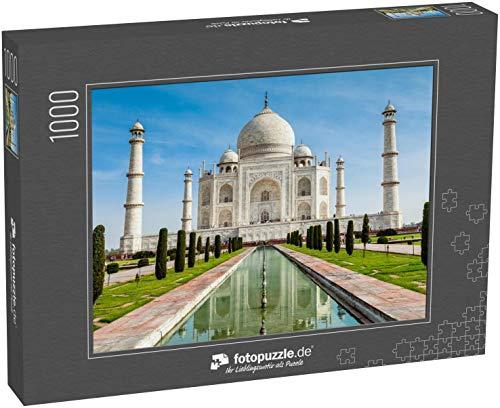 Puzzle 1000 Teile Tadsch Mahal, Indien - Klassische Puzzle, 1000 / 200 / 2000 Teile, edle Motiv-Schachtel, Fotopuzzle-Kollektion 'Indien2'