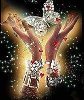 Yobeyi ダイヤモンドペインティング 5D DIY フルダイヤモンド クリスタルラインストーン ダイヤモンド絵画アート ホームウォールデコ Four seasons01