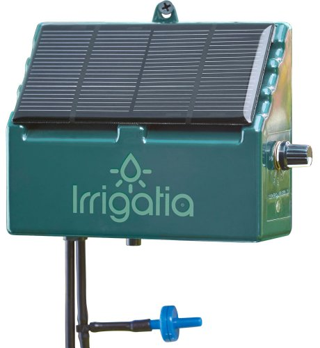 Irrigatia SOL-C12 Unique Solar Powered Weather Responsive Automatic Watering System