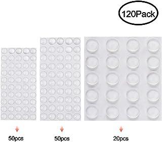 Wanxida 120 Piezas Topes Adhesivos Protectores Pies de Goma