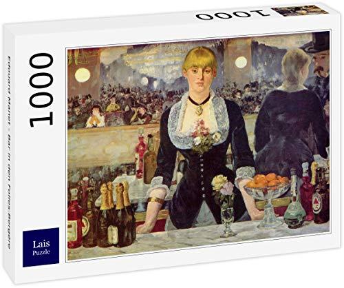 Lais Puzzle Edouard Manet - Bar delle Folies-Bergère 1000 Pezzi