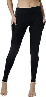 Vigorpace (XS/S/M/L) Women's Side Pockets Running Cycling Training Yoga Workout Leggings Inner Hidden Pocket (M)
