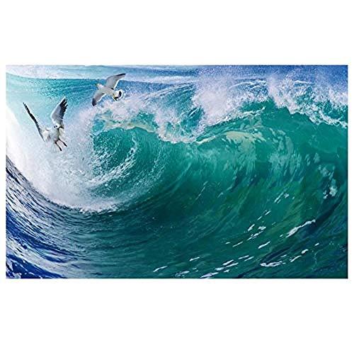Jbekjg Schöne Meeresdecke Landschaft Tapete Wandbilder Decken Papel Parede Wandbild Tapete 3D Wandbilder-140X100Cm (55 39Inch)-150X80Cm