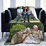 Customized Blanket Personalized Gifts Custom Throw Blankets with Photo Text for Friends Fathers Mothers Day Kids Birthday 2-80×60