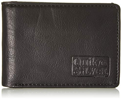Quiksilver Slim Folder, Monederos. para Hombre, negro, Small