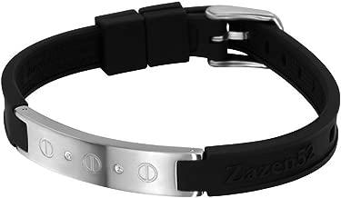 Zenturio Limited Diamond Swarovski Element Edition Exclusive Magnet/ion/Health Bracelet – TÜV Rheinland Germany Certified – for Your Health and Wellbeing