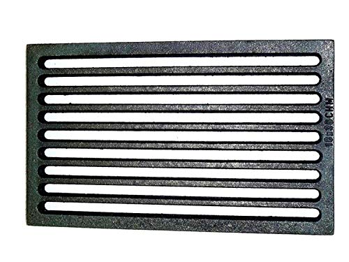 Powermat Ofenrost Gussrost Rost Feuerrost Ascherost Tafelrost Kaminrost 18x30 cm Ofen
