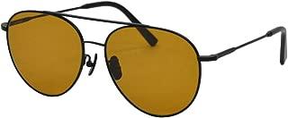 A.D.S.R サングラス ◆ IRENE 01 a マットブラック オレンジレンズ メンズ レディース メガネ アイリーン ティアドロップ ストリート エーディーエスアール