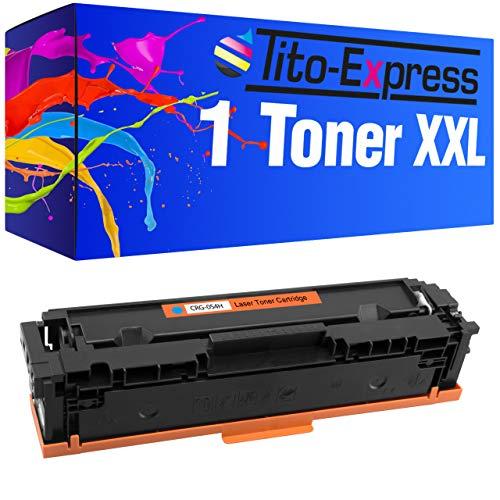 Tito-Express PlatinumSerie Toner laser XXL compatible avec Canon CRG 054 H (08) Toner Cyan