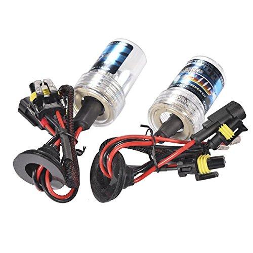 H3 6000K 12V 35W HID Xenon Bulb Conversion Kit Car Head Lamp Light Replacement Super Vision