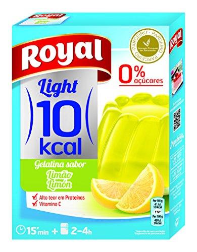 Royal Gelatina de Limon - Paquete de 12 x 2.58 gr - Total: 31 gr