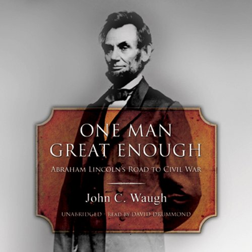 One Man Great Enough audiobook cover art