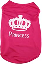 Dress Clothes PRINCESS Shirt Vest Costume for small Dog Puppy Cat Fancy Paws - Size S