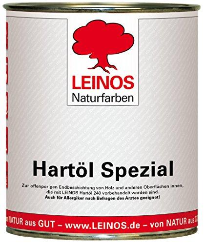 Leinos 245 Hartöl Spezial für Innen 0,75 l
