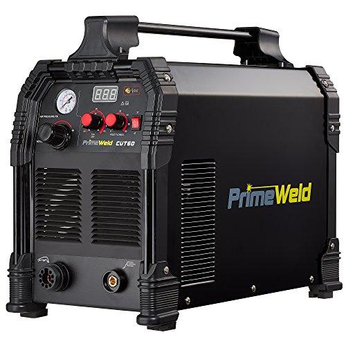 PRIMEWELD CUT60 60Amp Non-Touch Pilot Arc PT60 Torch Plasma Cutter 110V/220V Dual Voltage 3 Year Warranty