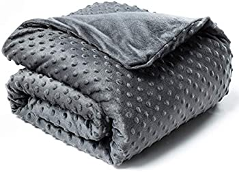 Bedsure Weighted Blanket for Kids with Removable Duvet Cover