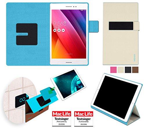 Hülle für Asus ZenPad S 8.0 Tasche Cover Hülle Bumper   in Beige   Testsieger