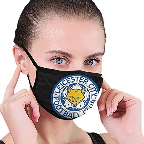 Low Leicester City Fc Reusable Washable Comfortable Dustproof Face Unisex Dust Face Black