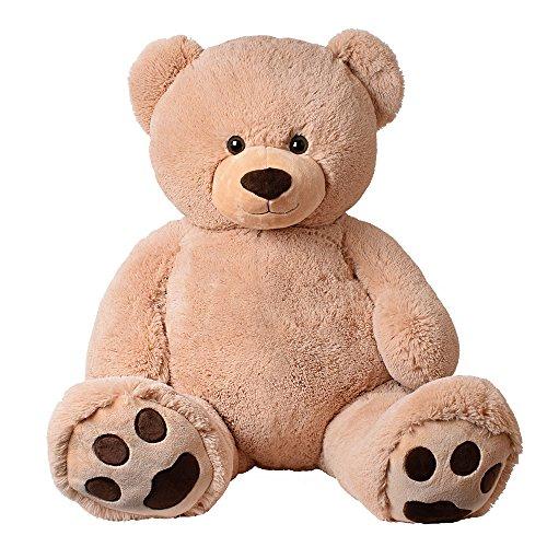 XXL Giant Teddy Bear Riesen Teddy Plüsch Kuscheltier Plüschteddy Kuschelbär Bär 135 cm