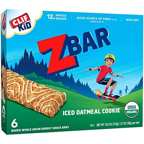 Clif Bar Kid Z Bar Iced Oatmeal Cookie (6x7.62Oz)