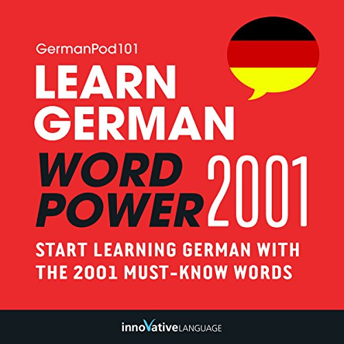 Learn German: Word Power 2001 cover art