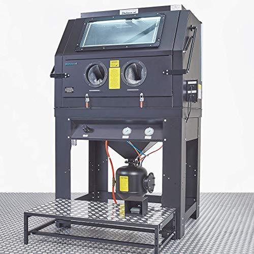 Sandstrahlkabine Sandstrahler Druckstrahlkabine mit Absaugung 990 Liter