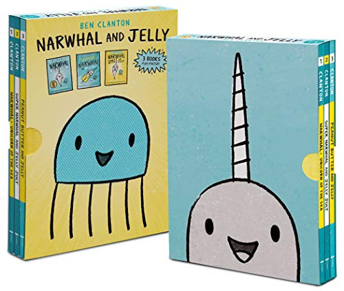 NARWHAL & JELLY BOXED SET (Narwhal and Jelly)