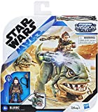 Collect Star Wars Mission Fleet Expedition Class Kuiil with Blurrg Action Figure - Together They Will Help The Mandalorian! Mission- Protect The Child!