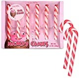 Archie Mcphee Hamdy Candy Canes 3.8 Oz! Six Ham-Flavored Candy Canes! White And Pink Stripes Colorful Sweets! Tastes Like A Slice Of Ham! Choose Your Flavor! (Ham)